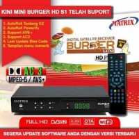 Receiver Parabola Matrix Burger S1 Fitur Sama Dengan S2, Power Vu
