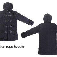 Button Rope Hoodie