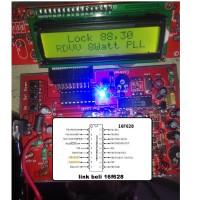 pic 16F628 isi firmware rdvv TSA5511 lcd1602 ic 16f628