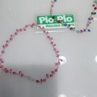 harga Gelang Kaki (bangles) Swarovski Perak Tokopedia.com