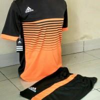 Kaos Setelan Futsal Adidas / Jersey Bola / Kostum Volly / Baju Tim