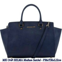 mk selma medium satchel bag