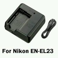Nikon MH 67 Charger EN EL 23 Baterai COOLPIX P600 P610 P900 S810C MH67