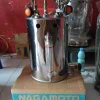 Setrika Uap Boiler Nagamoto Japan Technology 10 Liter Kompor Otomatis