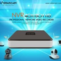 NVR VSTARCAM 4CH IP CAMERA IP CAM SLOT HDD 2.5/3.5