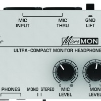 BEHRINGER MICROMON MA400 [ MA 400 ] Monitor Headphone Amplifier