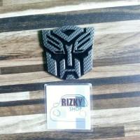 Jual Emblem Logo Transformers Autobots Hitam Murah