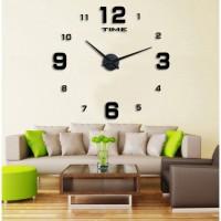Jual DIY Giant Wall Clock 80-130cm Diameter - ELET00660 / Jam Dinding Murah