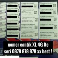 harga nomer / nomor cantik XL 4G 0878 878 878 xx kartu perdana axianta Tokopedia.com