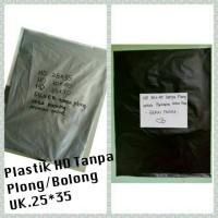 KANTONG PLASTIK HD TANPA PLONG UNTUK PACKING ONLINE SHOP (25X35)