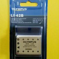 Battery Olympus Replacement Li-42B Li42B Li42 Support Fuji Kodak Casio
