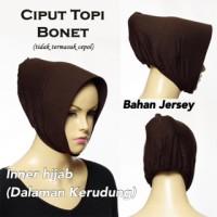 Inner hijab / dalaman kerudung model ciput topi jersey