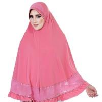 harga Best Seller/jilbab Syar'i/fashion Wanita/fashion Muslim Hdnx978 Pink Tokopedia.com