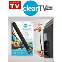 Jual Antena TV Digital Indoor, HDTV DVB-T2 Clear TV Key, Antena Dalam Murah