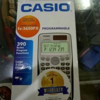 casio scientific fx-3650P II programmable