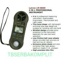 Lutron LM-8000 4 in 1 Anemometer Humidity Light Lux Meter LM-8000A