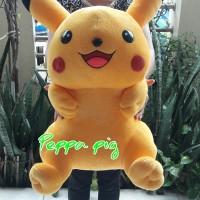Jual boneka pokemon pikacu besar jumbo Murah