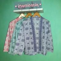 Blazer Kimono / Blazer Batik Wanita Modis Terbaru (ulos Kimono)