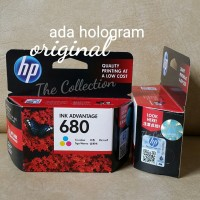 SEALED COLOR Tinta HP 680 Printer Original Ink Deskjet 111 2135 3635