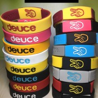 WRISTBAND DEUCE NBA BASKETBALL NIKE ADIDAS GOT HANDLES IRVING