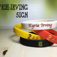WRISTBAND IRVING SIGN BASKET NBA ADIDAS NIKE GELANG KARET
