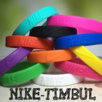 WRISTBAND NIKE TIMBUL GELANG KARET NBA BASKET ADIDAS MURAH RUBBER