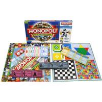 Jual Monopoly 5 in 1 Monopoli, Halma, Catur, Ular Tangga, Ludo Murah