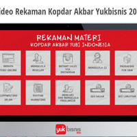 Rekaman Kopdar Akbar Yukbisnis 2015 | Materi Daging Bisnis Online