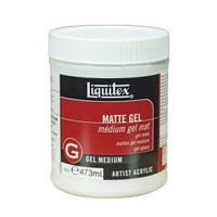 Liquitex Professional Matte Gel Medium 473ml