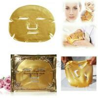 Harga masker wajah gold collagen crystal facial | Pembandingharga.com