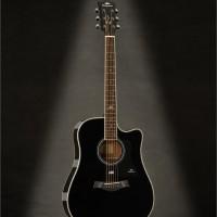 Gitar Acoustic Kepma D1C BK Gloss