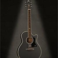 Gitar Akustik Kepma A1CE Bk Satin
