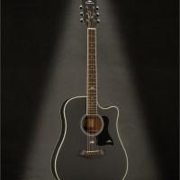 Gitar Akustik Kepma D1C Bk Satin