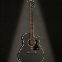 Gitar Akustik Kepma A1C Bk Satin