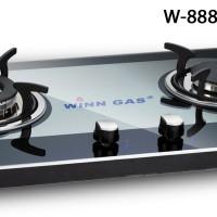 Winn Gas W888 Kompor Gas 2 Tungku Glass