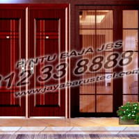 0812 33 8888 61 (JBS), Steel Door Rumah