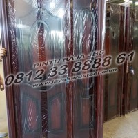 0812 33 8888 61 (JBS), Steel Door Minimalis