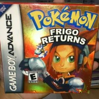 Nintendo Gameboy Advance Pokemon Frigo Returns Version GBA SP Kaset GB