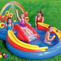 Intex 57453 Rainbow Ring Play Center