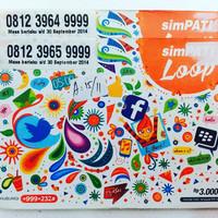 Nomor Cantik Loop Batik