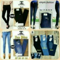 celana panjang wanita/skinny/soft jeans/streetch