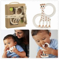 Sophie The girrafe So Pure Duet Teether - Teether lembut sophie