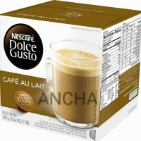 Nescafe Dolce Gusto Capsule Cafe AU LAIT