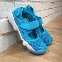 Nike Free Air Rift Blue Sneakers Pria Wanita Sepatu Jalan Premium