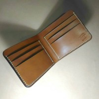Leather Classic Bifold Wallet (Handmade)