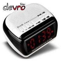 harga Speaker Bluetooth - Jam Meja Digital / FM Radio / MicroSD / AUX - KD67 Tokopedia.com