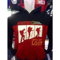 Sweater Hoodie Natgeo GL-321 Jumper Adventure Komunitas Pecinta Alam