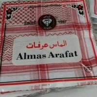 harga Sorban Asli Saudi Surban Imamah Arab Almas Arafat Shemagh Merah Hitam Tokopedia.com