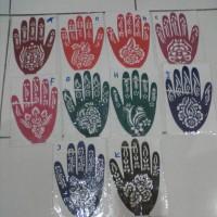 Cetakan Pacar Hena Henna / Alat Cetak / Henna Art Tattoo Stiker
