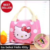 Tas Bekal Wisata Iconic Insulated Lunch Bag Cooler HELLO KITTY